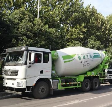 Shacman X3000 Concrete Mixer Truck Manufacturer in China 345HP 9 Cubic Meter