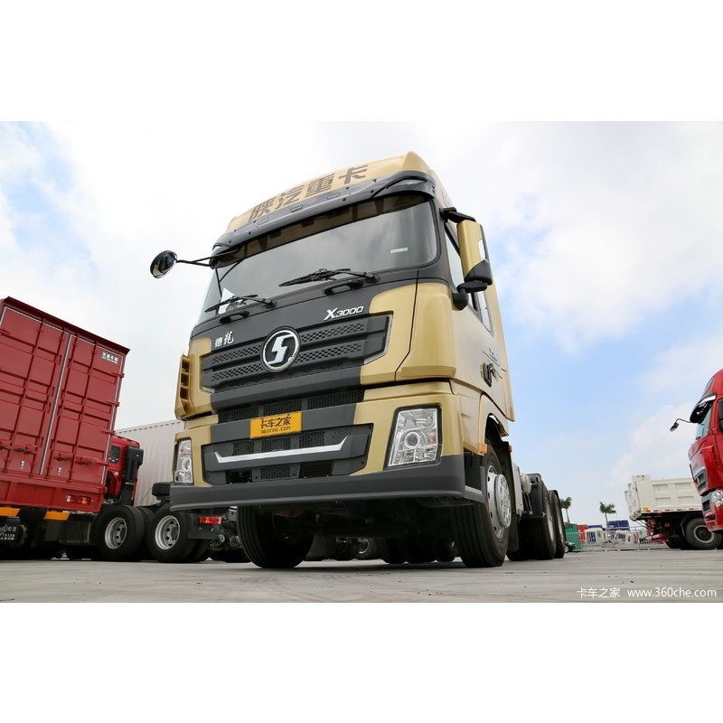 Chinese Truck Brand Shacman 380HP X3000 6X4 GCW 70Ton Tractor Unit Manufacturer