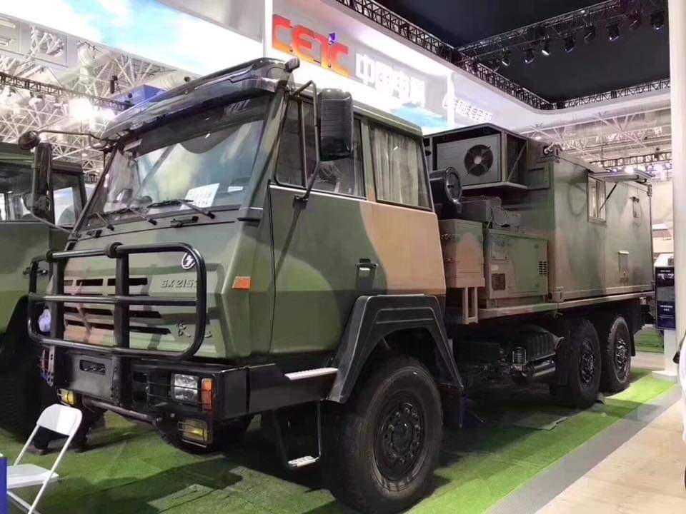 China Army Heavy Vehicle - Made by Shacman