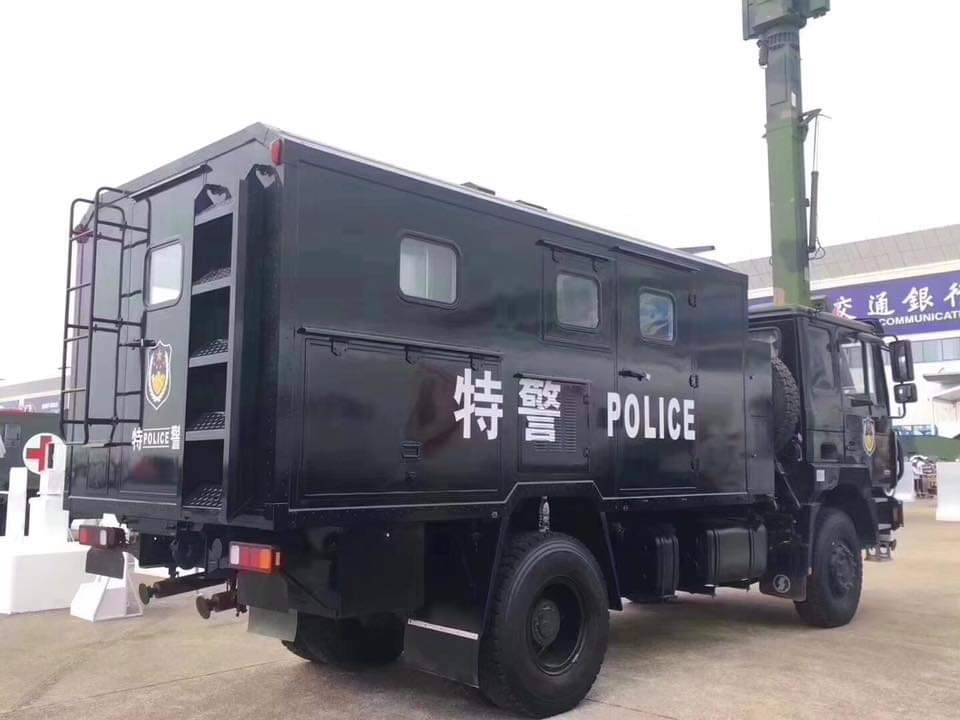 China Police Vehicle Made by Shacman