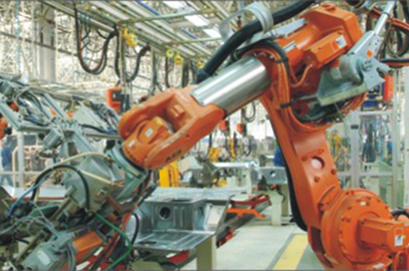 Automatic Welding and Assembly Line