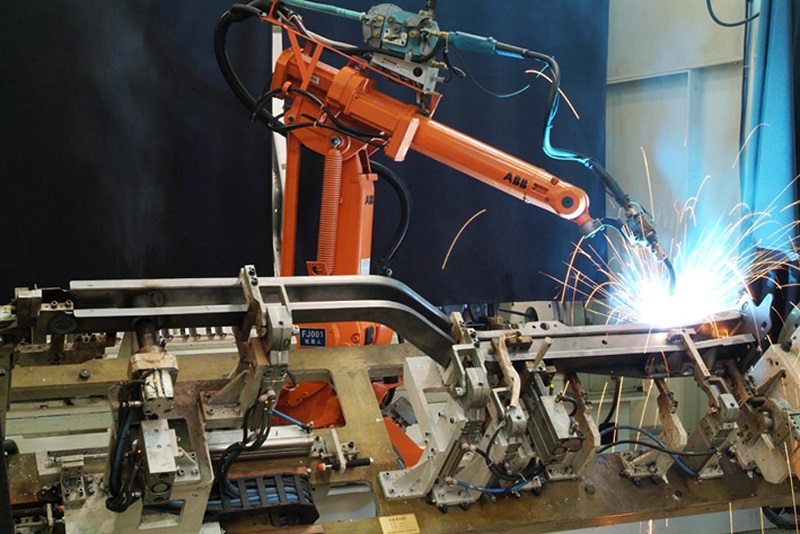 Welding and Assembly by Robot