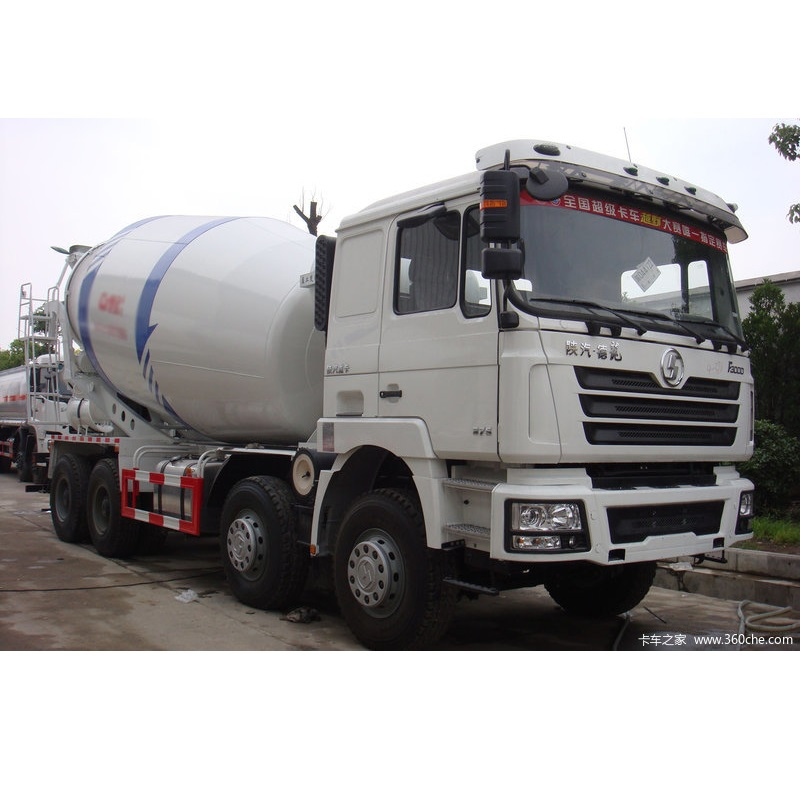 12 Cubic Meter F3000 8X4 380HP Self Loading Concrete Mixer Truck Manufacturer