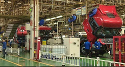 heavy duty truck manufacturing process