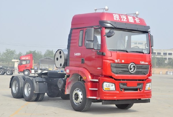 Shacman F3000 6X4 Truck CNG Semi Trailer 380HP 70Ton China Manufacturers