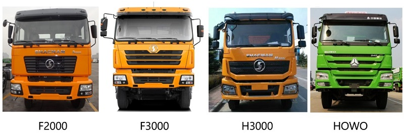 Difference between Shacman Truck and HOWO truck